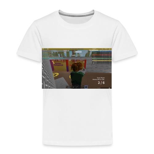 RobloxScreenShot03242017 234607037 - Børne premium T-shirt