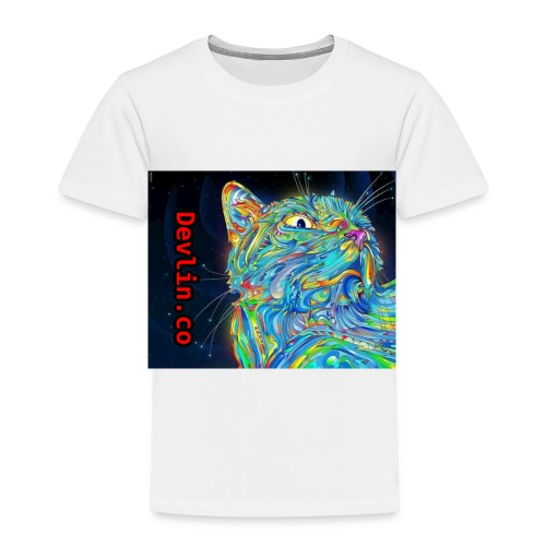 Trippy cat - Kids' Premium T-Shirt