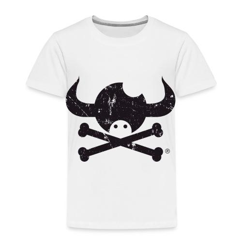 DISEÑO QUIJOTES BASICO NEGRO GRUNGE - Camiseta premium niño
