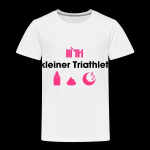 kleiner Triathlet - Kinder Premium T-Shirt