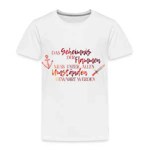 Das Geheimnis der Flammen - Kinder Premium T-Shirt
