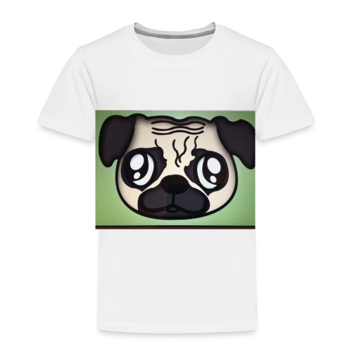Pugly boss - Kids' Premium T-Shirt
