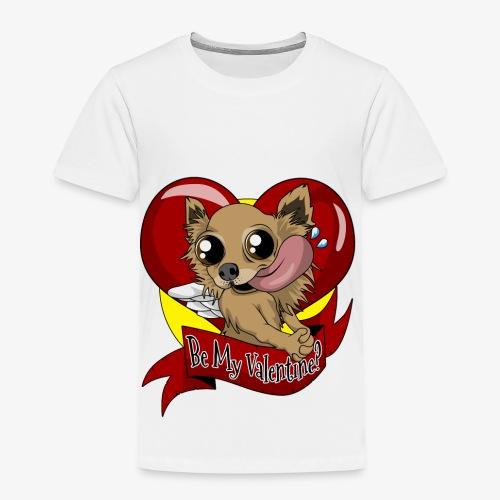 Engla Be my valentine? - Premium-T-shirt barn