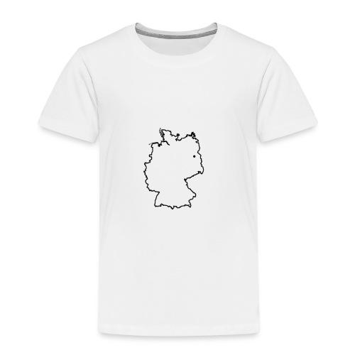 Deutschland kontur - Kinder Premium T-Shirt