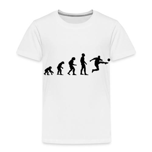 Fußball Bundesliga Evolution Sport Spiel Geschenk - Kinder Premium T-Shirt