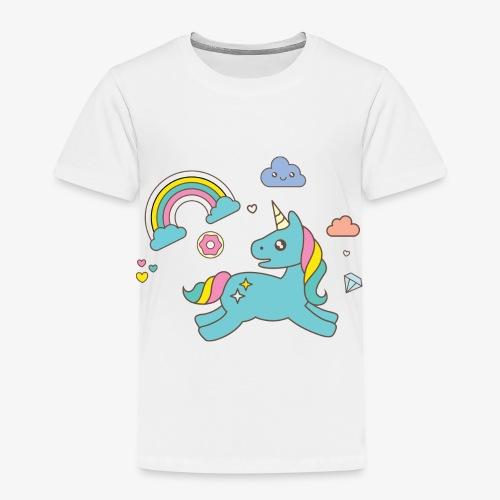 colored unicorn - Kids' Premium T-Shirt