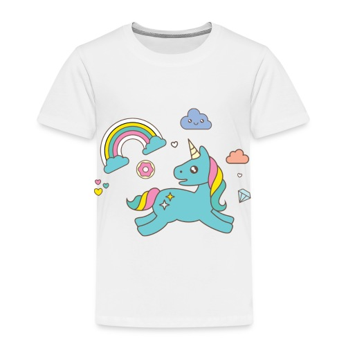 colored unicorn - Kids' Premium T-Shirt