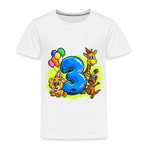 3. Jahre alt - Kinder Premium T-Shirt