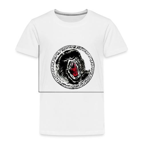 gezeichneter Print fuer ein T Shirt - Kinder Premium T-Shirt