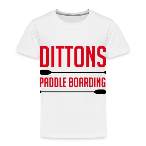 Dittons Paddle Boarding Logo - Kids' Premium T-Shirt