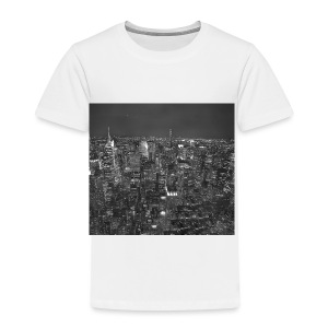 Manhattan at night - Børne premium T-shirt