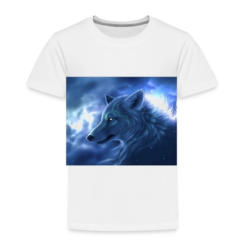 Arctic Wolf - Kinder Premium T-Shirt