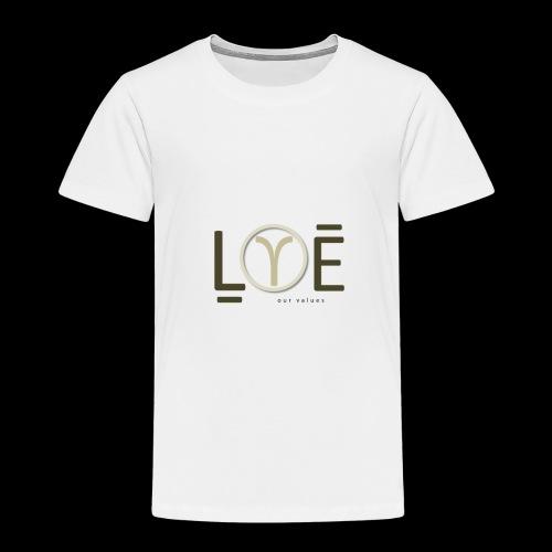 LOVE Our Values OV - Kids' Premium T-Shirt