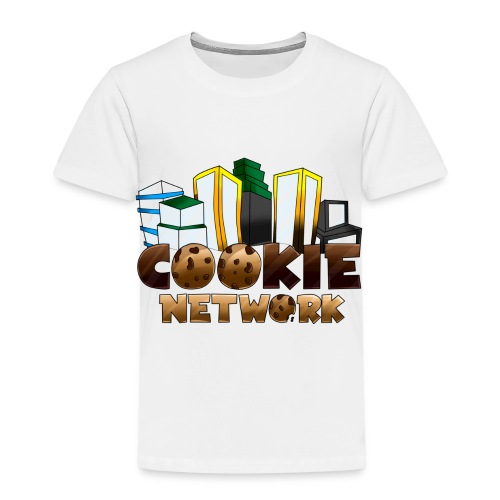 Cookienetwork logo - Kinderen Premium T-shirt
