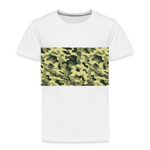 camouflage slippers - Kinderen Premium T-shirt