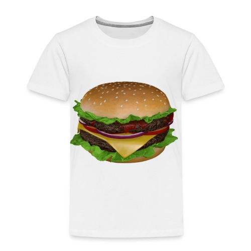 Burger - Premium-T-shirt barn