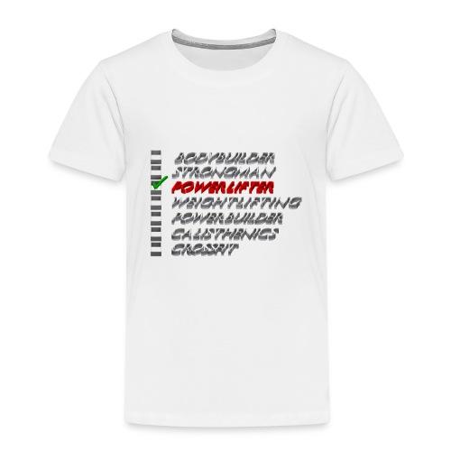 Powerlifter - Kinderen Premium T-shirt