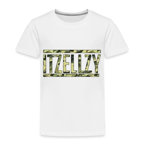 Camo Itz Ellzy logoc - Kids' Premium T-Shirt
