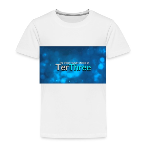 Ter Three Officail Banner - Kids' Premium T-Shirt