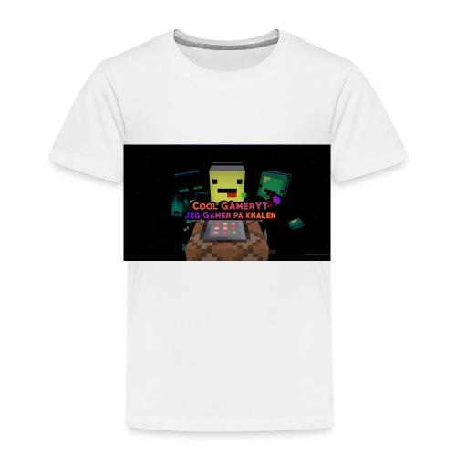 Cool Gamer yt - Premium T-skjorte for barn