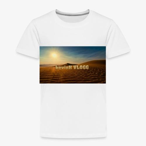 vlogg logo 123 - Premium T-skjorte for barn
