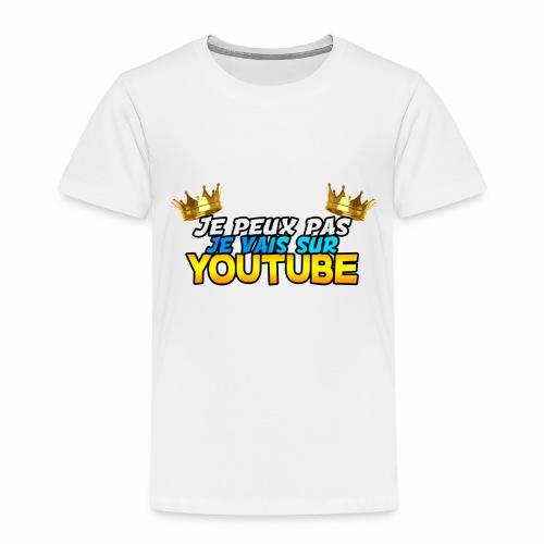 Je peux pas je vais sur youtube - T-shirt Premium Enfant