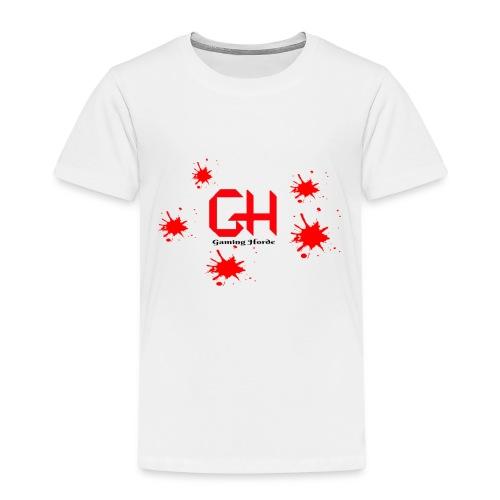 GamingHorde (black letters) - Kids' Premium T-Shirt