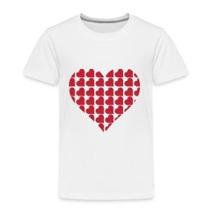 Miłość-love-Valentine dzień serce - Koszulka dziecięca Premium