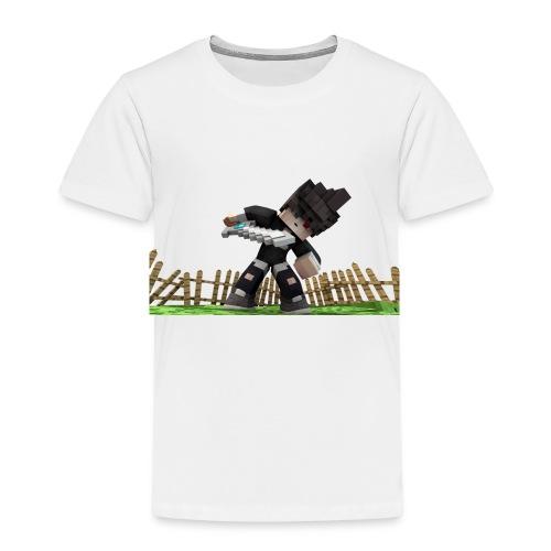 Ghoul Skin Render - Kinder Premium T-Shirt