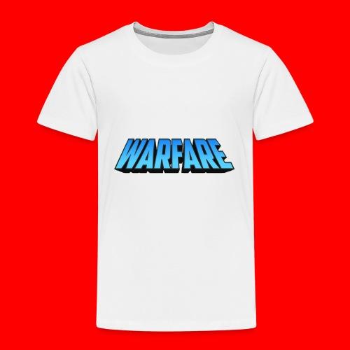 Warfare 2018 Logo Printed Merchandise - Kids' Premium T-Shirt