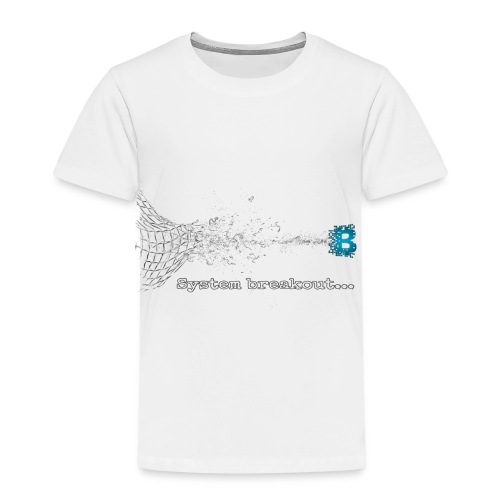 Breakout Blockchain - Kinder Premium T-Shirt
