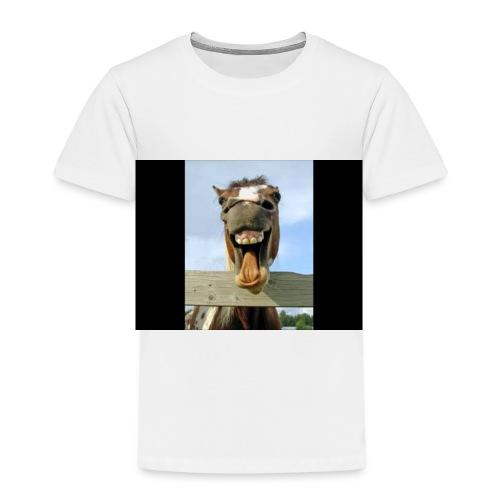 Hahaha - Børne premium T-shirt