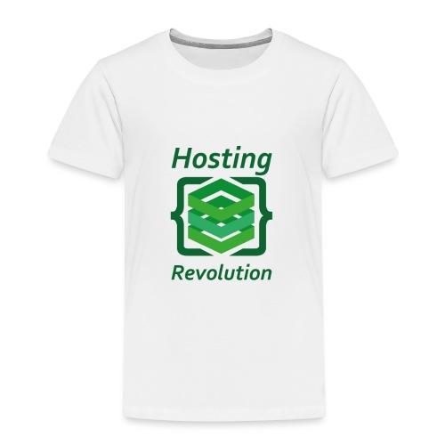 Hosting Revolution - Maglietta Premium per bambini