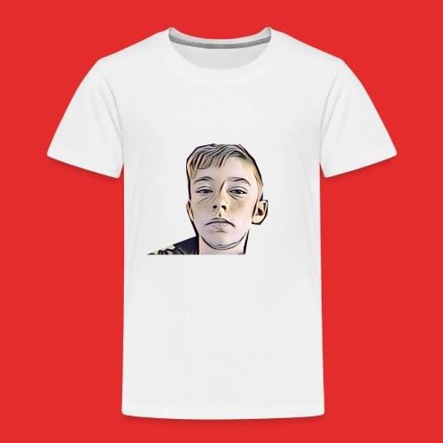 Rap Cartoon Logo - Kids' Premium T-Shirt