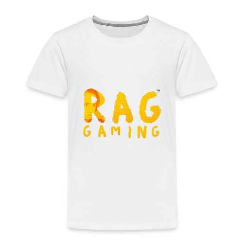 RaG Gaming™ big logo - Premium T-skjorte for barn