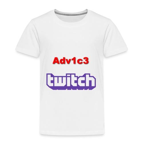 First Full Merch Line - Twitch Adv1c3 - Kinderen Premium T-shirt