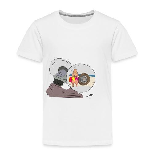 Rueda de Monopatin - Camiseta premium niño