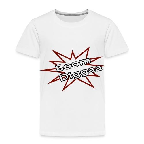 Boom Diggaa Style - Kinder Premium T-Shirt