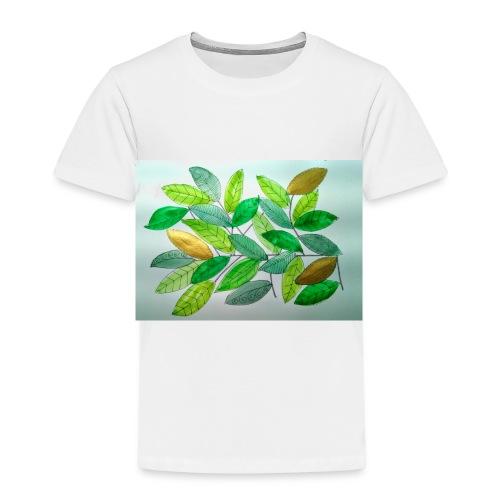 Feuilles - T-shirt Premium Enfant