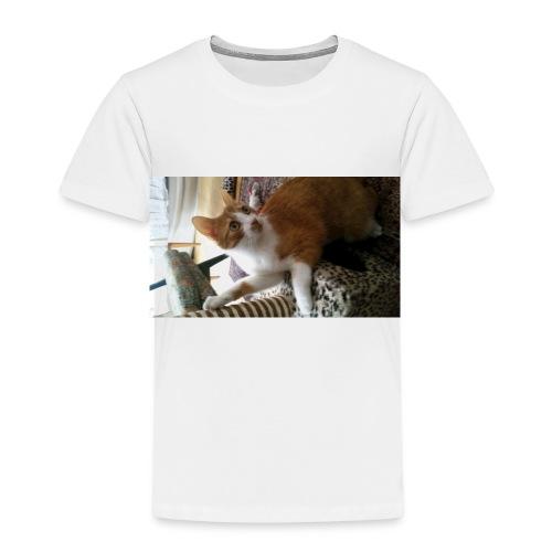 Speedy cat merch :) - Premium-T-shirt barn