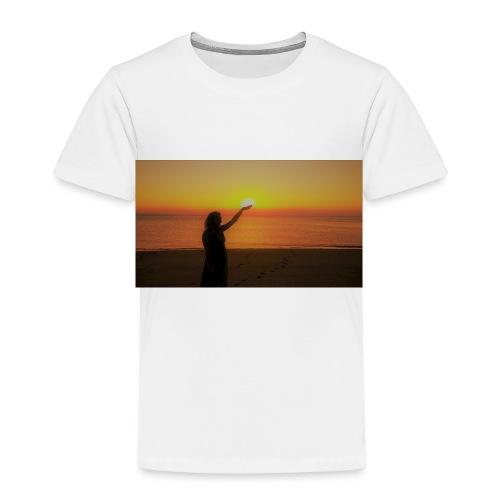 femme coucher de soleil - T-shirt Premium Enfant