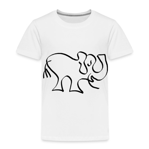 sketch 1529352425443 - Kinder Premium T-Shirt