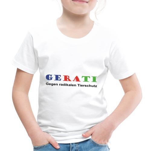 GERATI Logo Farbe - Kinder Premium T-Shirt