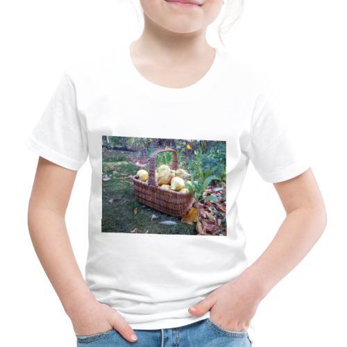 Quitten-Korb - Kinder Premium T-Shirt