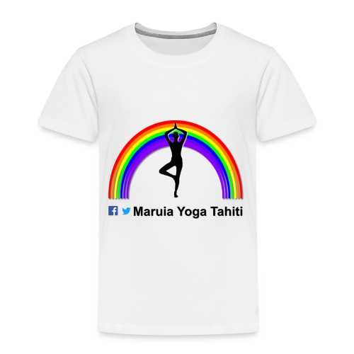 Logo de Maruia Yoga Tahiti - T-shirt Premium Enfant