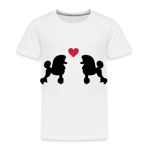 Villakoira tupla1 - Lasten premium t-paita
