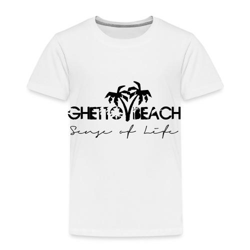 Ghetto Beach Logo - Kinder Premium T-Shirt