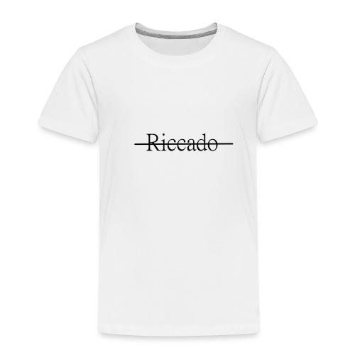 Riccardo Strichwort - Kinder Premium T-Shirt