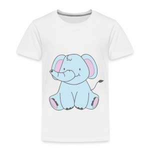 The Little Elephant - Kids' Premium T-Shirt