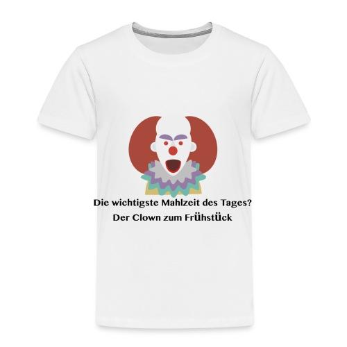 Geschenkidee Karneval Clown - Kinder Premium T-Shirt